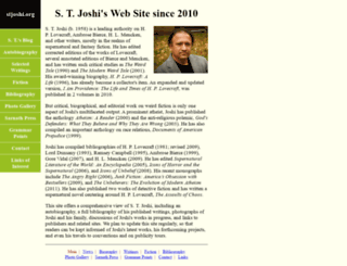 stjoshi.org screenshot