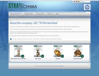 stkatechnika.com screenshot