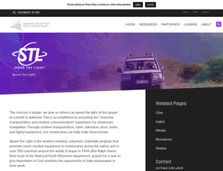 stl.ag.org screenshot
