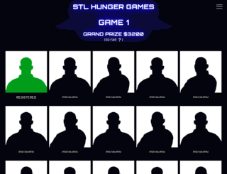 stlhungergames.com screenshot
