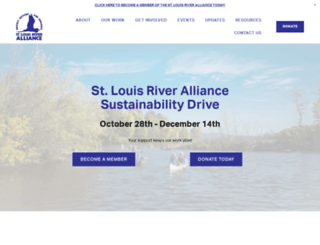 stlouisriver.org screenshot