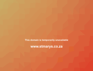 stmarys.co.za screenshot