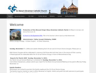stmarysbc.com screenshot