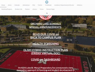 stmarysprep.com screenshot