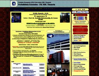 stmik-thamrin.sepakbola.biz screenshot