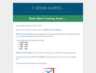 stockalerts.tips screenshot