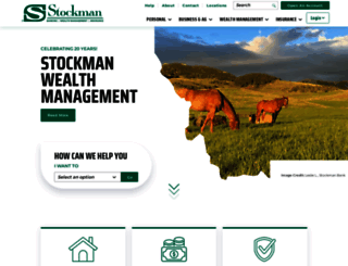stockmanbank.com screenshot