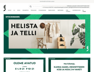 stockmann.ee screenshot