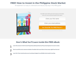 stockmarketforpinoys.com screenshot