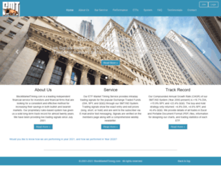 stockmarkettiming.com screenshot
