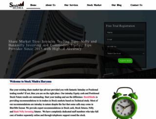 stockmudra.com screenshot