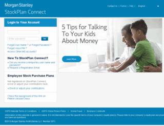 stockplanconnect.com screenshot