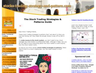 stocks-trading-strategy-and-pattern.com screenshot