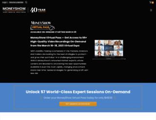 stocks.moneyshow.com screenshot