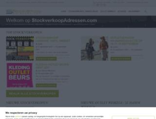 stockverkoopadressen.com screenshot