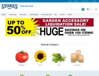 stokeseeds.com screenshot