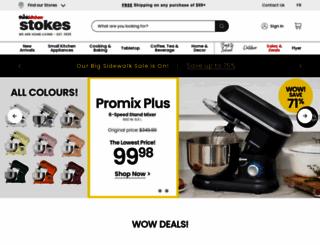 stokesstores.com screenshot