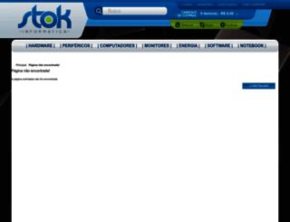 stokinformatica.com.br screenshot