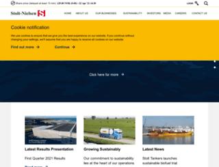 stolt-nielsen.com screenshot