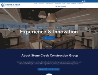 stonecreekbldrs.com screenshot