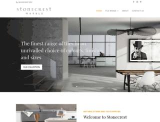 stonecrestmarble.com screenshot