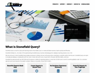 stonefieldquery.com screenshot