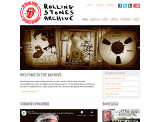 stonesarchive.com screenshot