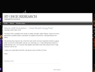 stongeresearch.com screenshot