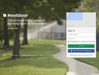 stonybrookma.nextdoor.com screenshot