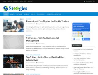 stoogles.com screenshot