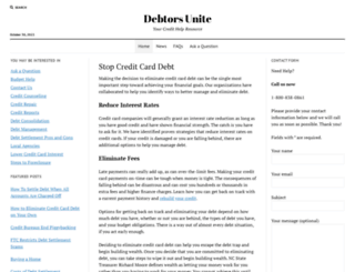 stopccdebt.com screenshot