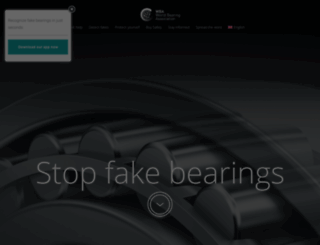 stopfakebearings.com screenshot