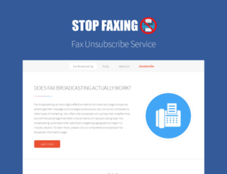 stopfaxing.me screenshot