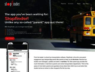 stopfinder.com screenshot