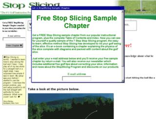 stopslicing.com screenshot