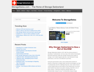 storageswiss.com screenshot