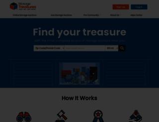 storagetreasures.com screenshot