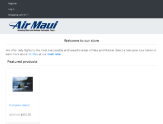 store.airmaui.com screenshot