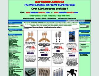 store.batteriesamerica.com screenshot