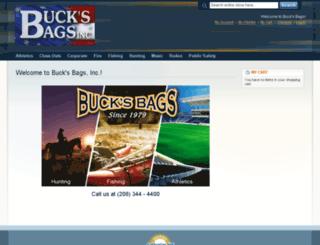 store.bucksbags.com screenshot
