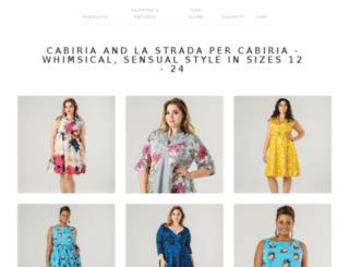 store.cabiriastyle.com screenshot