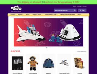 store.californiasciencecenter.org screenshot