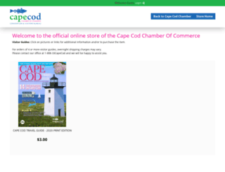 store.capecodchamber.org screenshot