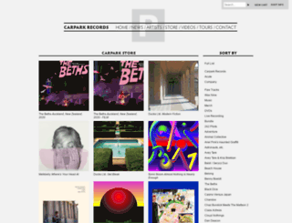 store.carparkrecords.com screenshot