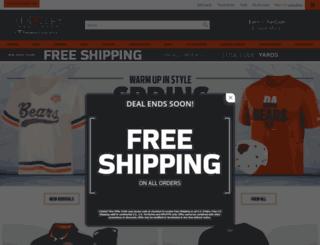 store.chicagobears.com screenshot