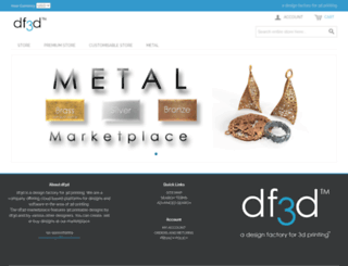 store.df3d.com screenshot