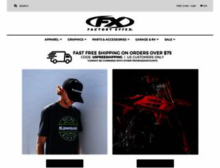 store.factoryeffex.com screenshot