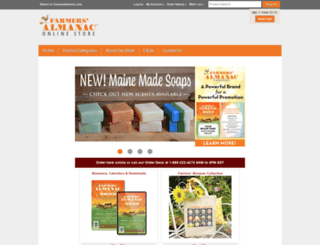 store.farmersalmanac.com screenshot