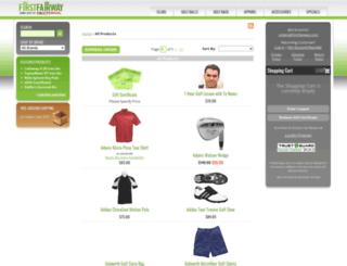 store.firstfairway.com screenshot