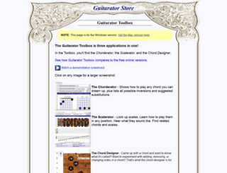 store.guitarator.com screenshot